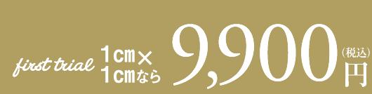 いまだけ限定キャンペーン9,000円(税別)